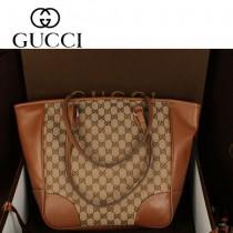 GUCCI 323671-5 新款女包 時尚女士手提單肩包 雙G吊墜中號包
