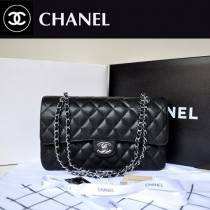 chanel 潮流球紋銀鏈時尚女包 A1113-2