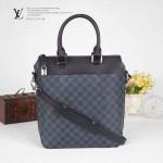 LV N41531-2 潮流新款男士商務休閒豎形手提肩背包公文包