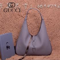 GUCCI 362968-3 古馳新款卡其色全皮女士手提包 時尚單肩包
