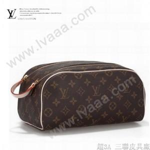 LV M47528 新款休閒經典老花男女款通用包手拿包化妝包