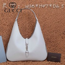 GUCCI 362968 古馳新款白色全皮女士手提包 時尚單肩包