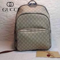 GUCCI 322069-2 古馳新款男女通用 灰色雙肩背包