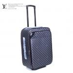 LV N23241 新款黑色棋盤格男士休閒拉杆箱行李箱