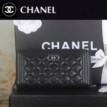 CHANEL A88711 新款時尚原版皮女錢包LE BOY複古手拿錢包晚宴包