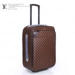 LV N23241-2 新款咖啡棋盤格男女款休閒拉杆箱行李箱