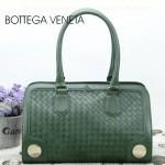 BV 3381-4 新款時尚女包純手工編織女包綠色單肩手提包女包