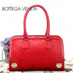 BV 3381-2 新款時尚女包純手工編織女包紅色單肩手提包女包