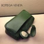 BV 1010-8 新款進口牛皮手包男女包 綠色BV風格手拿包