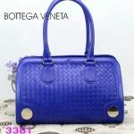 BV 3381-3 新款時尚女包純手工編織女包藍色單肩手提包女包