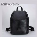 BV-0005 新款時尚潮流人氣黑色編織雙肩包