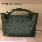 BV 7001-9 新款女士潮流個性休閒墨綠色手提編織包