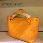 BV 7001-8 新款女士潮流個性休閒黃色手提編織包