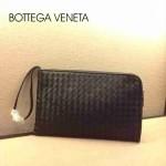 BV 9007 新款時尚黑色男女款包包歐美風範手拿包編織包