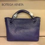 BV 7001-3 新款女士潮流個性休閒紫色手提編織包