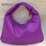 BV 5092-24 BV風格餃子包新編織女包紫色單肩手提包
