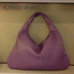 BV 5092-25 BV風格餃子包 進口綿羊皮全手工編織女包淺紫色單肩手提包