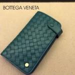 BV-00021-8 新款bv男女綠色零錢包長款羊皮夾手抓款編織拉鏈卡位夾