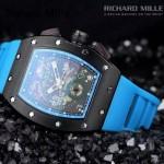 2015款 Richard Mille-55 理查德·米勒 瑞士革命性的頂級多功能腕表