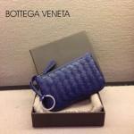 BV-00020-5 bv經典編織小羊皮男女款寶藍零錢包