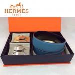 HERMES 0107 愛馬仕原版皮皮帶奢華禮盒