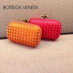 BV-00023-2 新款bv女款紅色時尚經典編織晚宴錢包