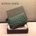 BV-00020-8 bv經典編織小羊皮男女款綠色零錢包