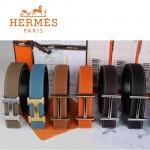 HERMES 0110 愛馬仕多色H扣原版皮皮帶