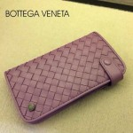 BV-00021-6 新款bv女淺紫零錢包長款羊皮夾手抓款編織拉鏈卡位夾