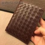 BV-專櫃 男士護照夾 原版小牛皮 黑色