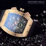 2015款 Richard Mille-77 理查德·米勒 瑞士革命性的頂級多功能腕表