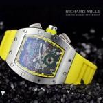 2015款 Richard Mille-63 理查德·米勒 瑞士革命性的頂級多功能腕表