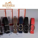 HERMES 0154 愛馬仕多色扣頭原版皮皮帶