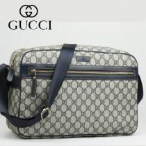 GUCCI 211107-02 GUCCI新款雙G帆布時尚單肩包