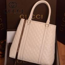 223668-01 新款GUCCI/古奇 白色女士單肩手提包包