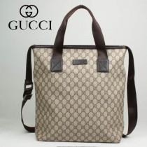 專櫃秋冬新款 Gucci/古馳新款古奇帆布斜挎單肩包 162163