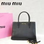 MIU MIU-0941-2 缪缪新款黑色原版皮女士單肩包 時尚手提包