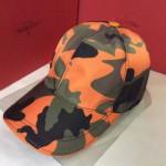 VALENTINO-1-07  華倫天奴新款棒球帽 時尚迷彩太陽帽子