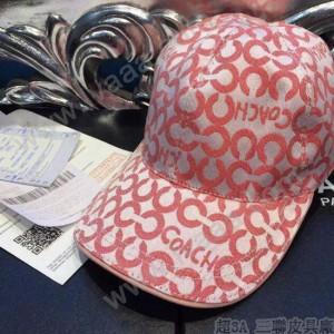 Coach-1-06 蔻馳原單棒球帽 時尚太陽帽子