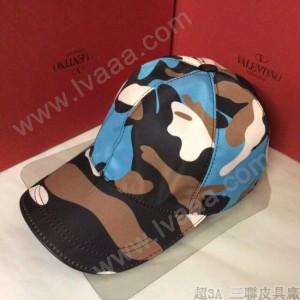 VALENTINO-1-05 華倫天奴新款棒球帽 時尚迷彩太陽帽子