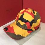VALENTINO-1-09  華倫天奴新款棒球帽 時尚迷彩太陽帽子