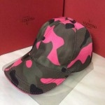 VALENTINO-1-03 華倫天奴新款棒球帽 時尚迷彩太陽帽子