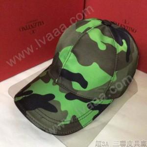VALENTINO-1-04 華倫天奴新款棒球帽 時尚迷彩太陽帽子