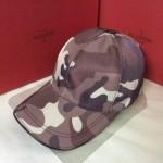 VALENTINO-1-02 華倫天奴新款棒球帽 時尚迷彩太陽帽子