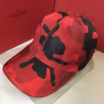 VALENTINO-1-06  華倫天奴新款棒球帽 時尚迷彩太陽帽子