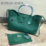BV-5211 純手工編織菜籃子 果綠色