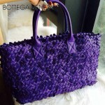 BV-5211-5 純手工原版羊皮編織花瓣款 玫瑰紫花瓣
