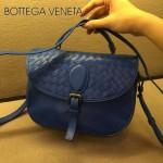 BV-808026-4 新款手提肩背包 原版羊皮  寶藍