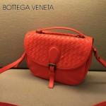 BV-808026-5 新款手提肩背包 原版羊皮  大紅