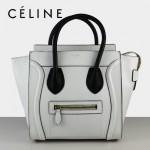 賽琳囧型女包白色手提包26cm 88023